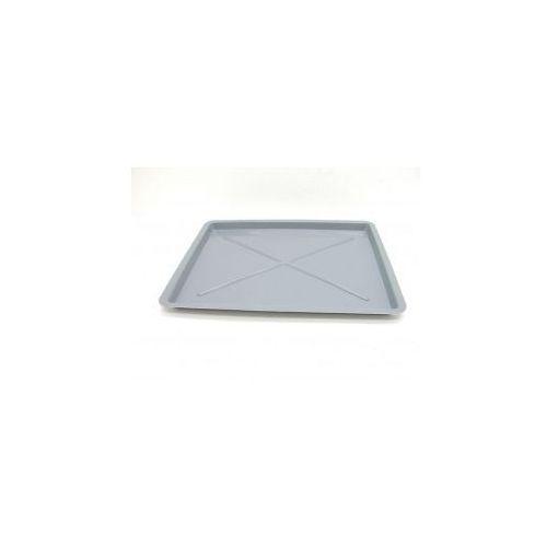 Produkt z kategorii- suszarki do naczyń - Rynienka zlewozmywakowa prostokątna srebrna