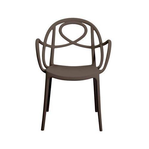 Krzesło ogrodowe Green Etoile P brązowe ze sklepu All4home