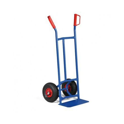 B2B Partner Stalowa taczka - wózek ręczny z wypukłą konstrukcją z kat. taczki
