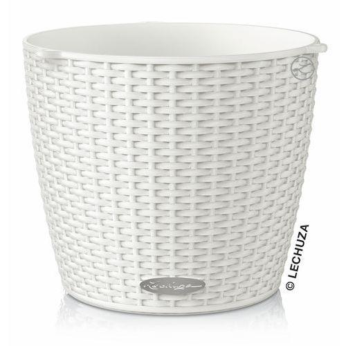Produkt Donica Lechuza Nido Cottage biała wisząca, marki Produkty marki Lechuza