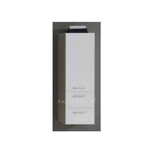 Produkt z kategorii- regały łazienkowe - Szafka Elita Kwadro 40 słupek biała 162328