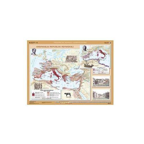 Produkt Ekspansja republiki rzymskiej/Rozwój i upadek cesarstwa rzymskiego. Mapa ścienna., marki Nowa Era