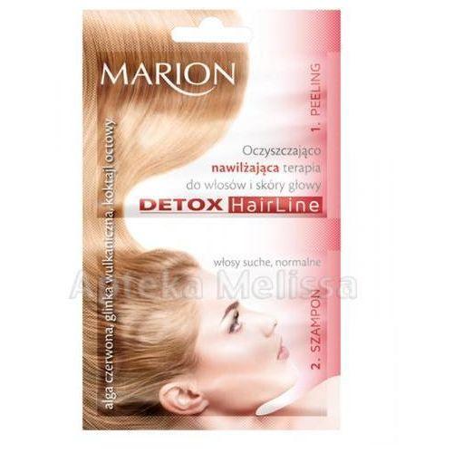 Produkt z kategorii- pozostałe kosmetyki do włosów - MARION Oczyszczająco-nawilżająca terapia do włosów i skóry - 13 ml + 10 ml