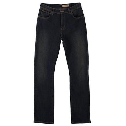 Produkt z kategorii- spodnie męskie - Wrangler TEXAS STRETCH Jeansy Straight leg niebieski