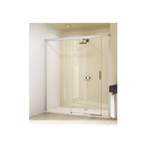 HUPPE DESIGN ELEGANCE 4-kąt drzwi suwane ze stałym segmentem i częścią boczną 8E0301 (drzwi prysznicowe)