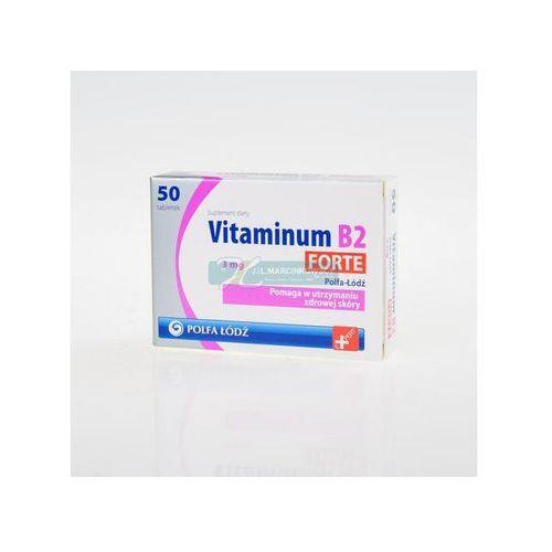 Vitaminum B2 Forte 3 mg 50 tabl., postać leku: tabletki