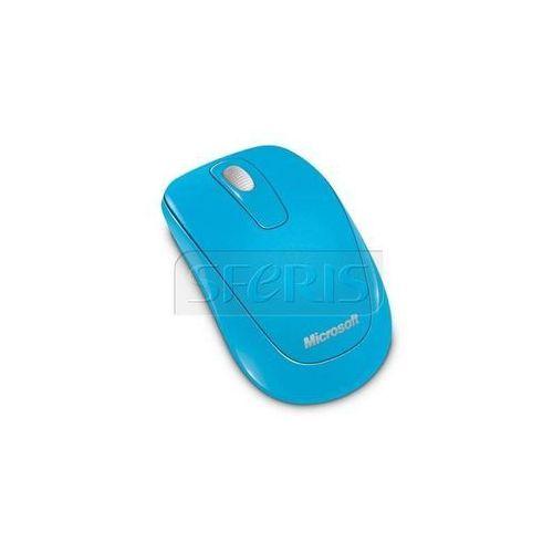 Mysz Microsoft Wirelss Mobile Mouse 1000 Niebieski 2CF-00029 - Natychmiastowa wysyłka kurierska! - produkt z kategorii- Pozostałe oprogramowanie