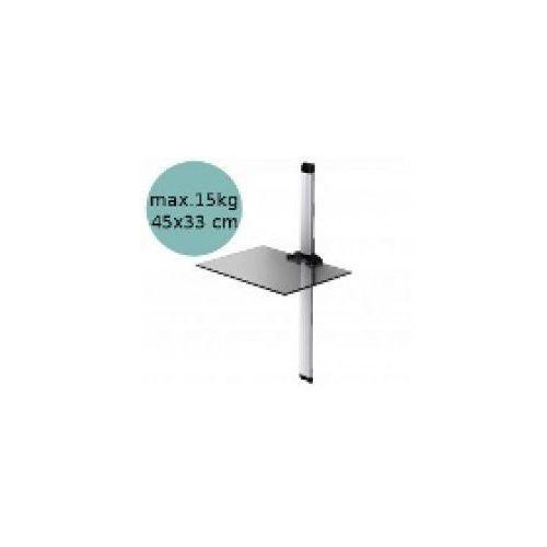 Sonorous PL2610 - Panel cienny pod sprzt, srebrny z kategorii półki rtv
