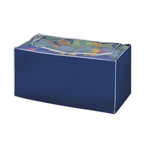 Pojemnik skrzynia komoda na pościel koce ubrania 90x50x45cm (kufer i skrzynia do sypialni)