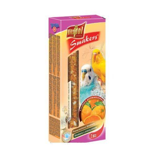 Smakers Kolby pomarańczowe dla papużki falistej 2 sztuki, Vitapol