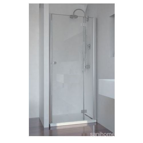 SMARTFLEX drzwi prysznicowe do wnęki prawe 90x195cm D1291R (drzwi prysznicowe)