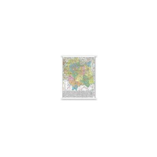 Województwo małopolskie mapa administracyjno - samochodowa 1:180 000 od Cartographica