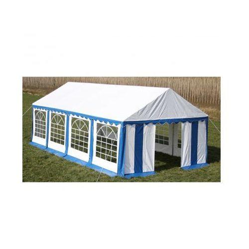 Pawilon ogrodowy 8x4m (dach+penele boczne), niebiesko-biały - produkt z kategorii- namioty ogrodowe
