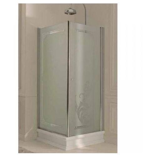 Kerasan Retro Drzwi prysznicowe 1000 mm - Chrom - 9140T0 (drzwi prysznicowe)