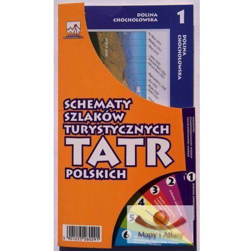 Tatry Polskie. Panoramy widokowe. Schemat szlaków turystycznych - oferta [55bd20704791628a]