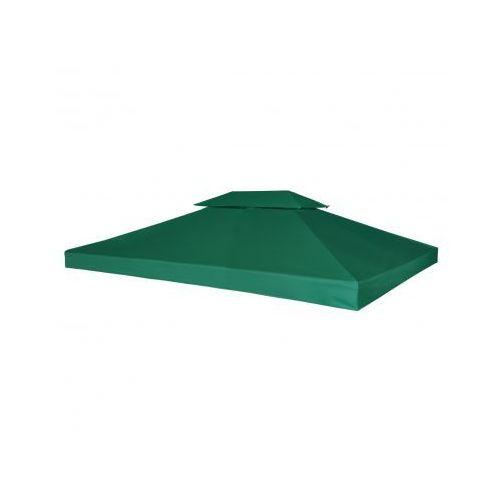 Zadaszenie namiotu ogrodowego 270 g/m² Zielone 3 x 4 m, produkt marki vidaXL