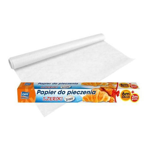 Papier do pieczenia biały 38cmx6m+2m gratis! RAVI, produkt marki Ravi