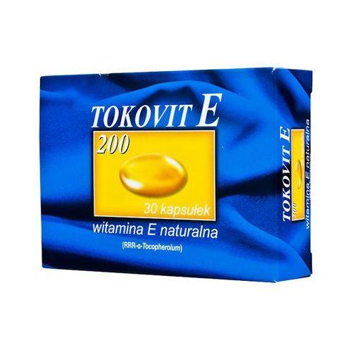Tokovit E 200 kaps.miękkie 200j.m. 60kaps., postać leku: kapsułki