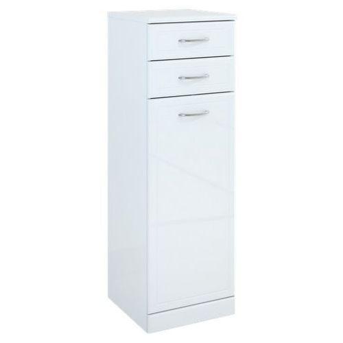 Produkt z kategorii- regały łazienkowe - Elita Aqua Line słupek łazienkowy 35x35,5x108 biały 164026