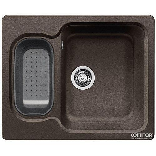 Zlew BLANCO NOVA 6 KAWOWY (korek manualny, odsączarka z tworzywa) 515020 //zamów wycięcie otworów gratis//
