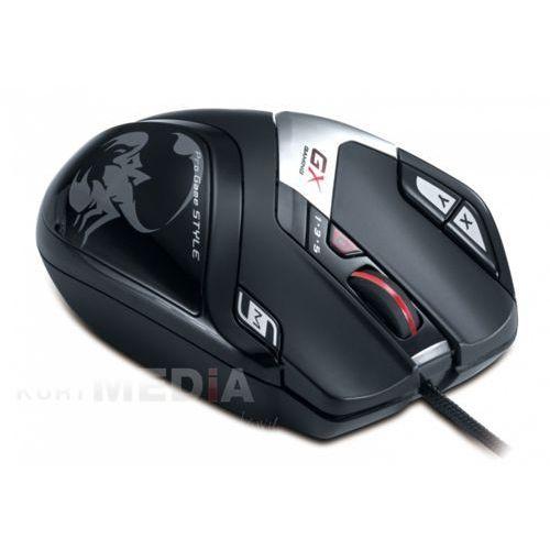 Genius GENIUS  GX GAMING DEATH TAKER/ przewodowa/ 5700 dpi/ USB/ czarna/ 9tlačítek z kat. myszy, trackballe i wskaźniki