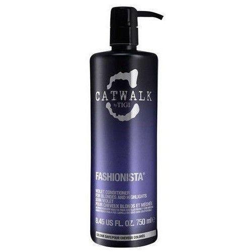 Tigi Catwalk Fashionista Violet Conditioner 750ml W Odżywka do włosów blond - produkt z kategorii- odżywki do włosów