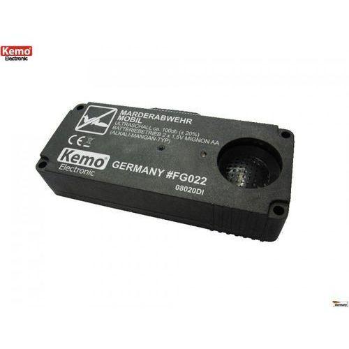 Mobilny ultradźwiękowy odstraszacz kun KEMO FG022, produkt marki Kemo Electronic