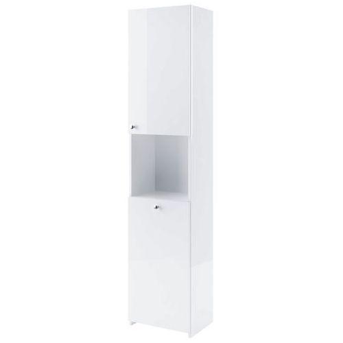 AQUAFORM szafka wysoka z koszem Maxi II biała (słupek) 0412-260101.399-241008 - produkt z kategorii- regały