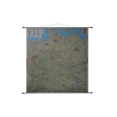 Niemcy mapa ścienna samochodowa 1:700 000  & Berndt, produkt marki Freytag