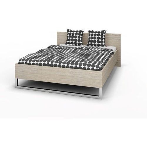 STYLE łóżko 140x200cm - dąb sonoma ze sklepu Meble Pumo