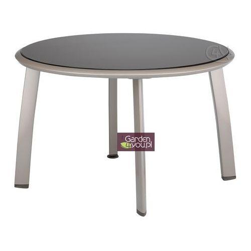Stół okrągły 120 cm Melange (stół ogrodowy)