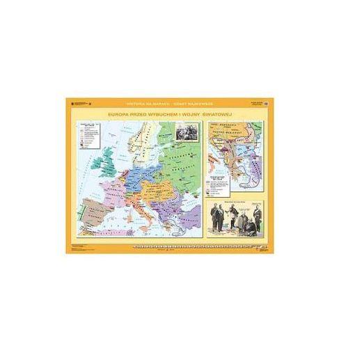 Produkt Europa od wojny krymskiej do zjednoczenia Niemiec/Europa przed wybuchem I wojny światowej. Mapa ścienna., marki Nowa Era
