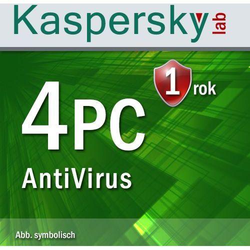 Kaspersky Antyvirus 2016 ENG 4 PC ESD - oferta (05a44074f75505e5)