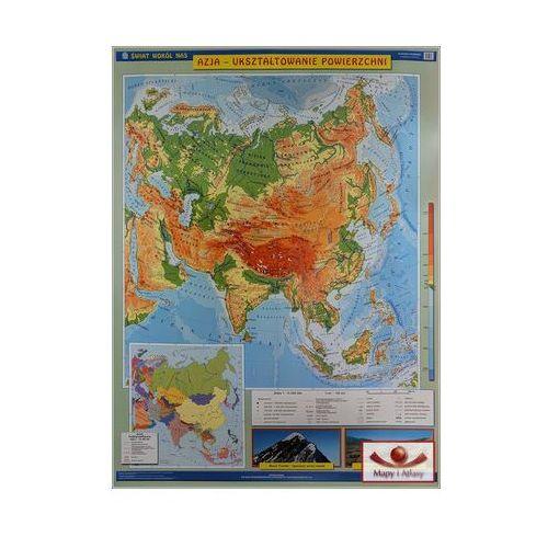 Azja. Mapa ścienna Azji. Ukształtowanie powierzchni / Krajobrazy, produkt marki Nowa Era