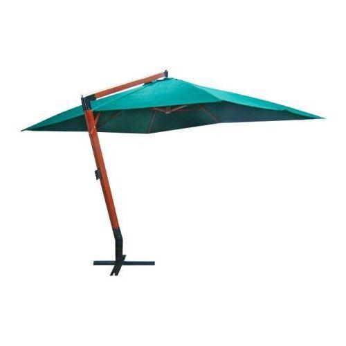 Parasol ogrodowy, 300x400cm, zielony - oferta [057a41701715d596]