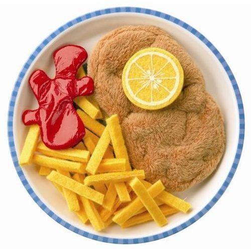 Sznycel + frytki i ketchup (zestaw) oferta ze sklepu www.epinokio.pl