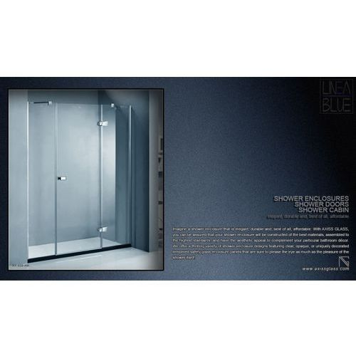DRZWI PRYSZNICOWE AXISS GLASS AX436HK 1600mm (drzwi prysznicowe)