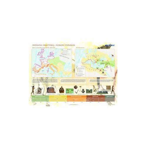 Produkt Rewolucja neolityczna - początki cywilizacji. Mapa ścienna. , marki Meridian