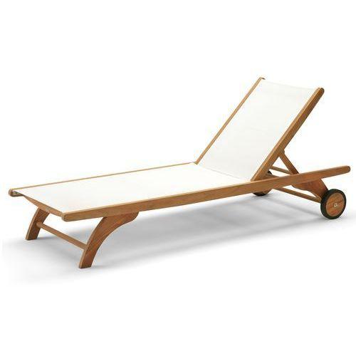 Leżak z kółkami Skagerak Columbus white - produkt dostępny w All4home