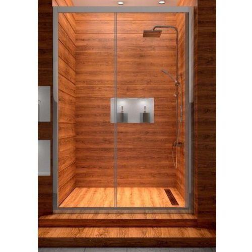 REA - Drzwi prysznicowe SLIDE transparent (drzwi prysznicowe)