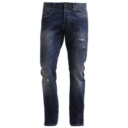 Esprit SLIM FIT Jeansy Slim fit blue denim - produkt z kategorii- spodnie męskie