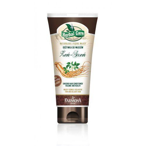 Herbal Care Odżywka do włosów Żeń-Szeń 200ml - produkt z kategorii- odżywki do włosów