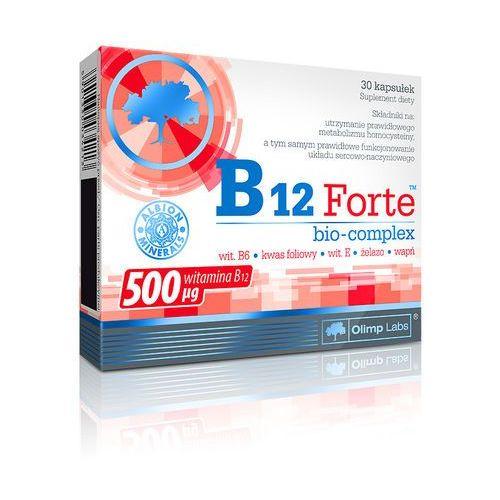 OLIMP B12 Forte bio-complex 30 kaps., postać leku: kapsułki