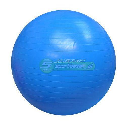 Produkt PIŁKA GIMNASTYCZNA AXER 65cm niebieska A2028, marki Axer sport