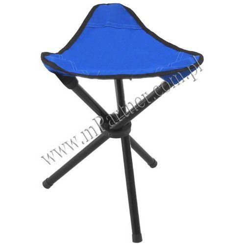 Krzesełko turystyczne składane wędkarskie - sprawdź w mPartner Tani sklep internet.