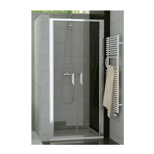 SANSWISS TOP-LINE drzwi dwuczęściowe 100 TOPP210005007 (drzwi prysznicowe)