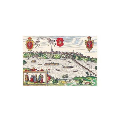 Panorama Warszawy, G.Braun i F. Hogenberg, 1618 r., produkt marki Golden Maps Publishing