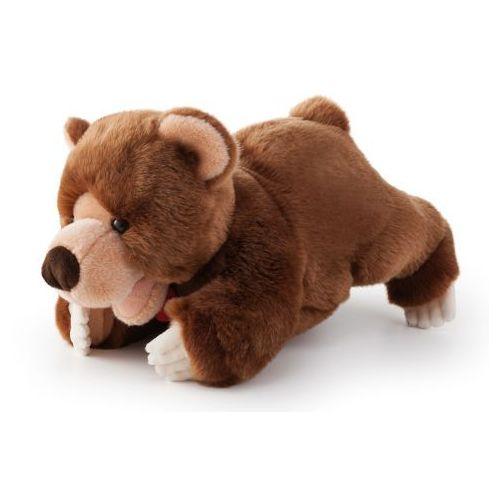 Pluszowa pacynka na rękę, przytulanka, Niedźwiedź przywódca odpoczywa, 29885-Trudi, zabawa w teatrzyk (pa
