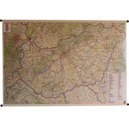 Węgry. Mapa ścienna samochodowa 1:400 000 wyd. , produkt marki Freytag&Berndt