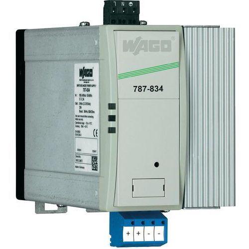 Artykuł Zasilacz na szynę WAGO EPSITRON PRO 787-834, 24 V, 20 A z kategorii transformatory